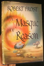 A Masque of Reason by Robert Frost 1945 First Ed. in Dust Jacket