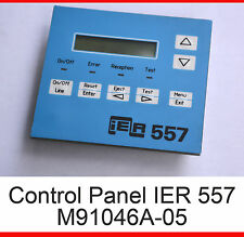 CONTROL PANEL M91046A-05 FOR PRINTER IER 557 IER557 AIRPORT PRINTER LCD DISPLAY