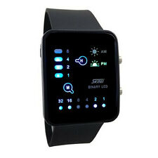 Technologique Sens Binaire Digital LED Sports écran tactile Montre Bracelet