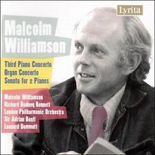 Williamson: Piano Concerto No. 3 / Organ Concerto / Sonata for 2 Pianos, New Mus