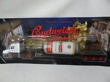 Scania Budweiser diecast Metal Truck, 1:87 Scale damaged blister