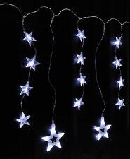 LED Sternenvorhang Lichterkette mit 46 Sternen 2,70 m (76073) Außenbeleuchtung