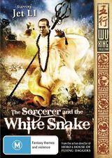 ●● THE SORCERER & THE WHITE SNAKE ●● (DVD, 2012) Jet Li, Charlene Choi *AS NEW*