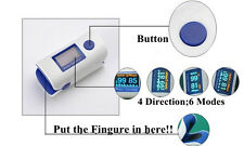 CE APPROVED, NEW MODEL Finger Pulse Oximeter,PARAMEDIC, NURSE, FIRSt AID,Doctor