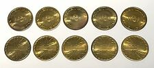 10x Vintage 2np Vending Machine Token - Vending/Fruit/Arcade Machine Coin - n2p