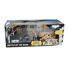 Batman DC The Dark Knight Rises Battle at the Bank Figure (Multi-Colour)