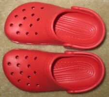 New Youth Kid's 2 J2 Women's 4 Men's 2 Crocs Cayman Red Classic Clog Shoes