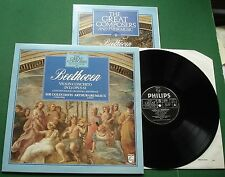 Great Composers 6 Beethoven Violin Concerto Grumiaux Davis 410483-1 LP & Book