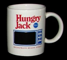 Pillsbury HUNGRY JACK Microwave Color-Changing Magic NEW Advertising Ceramic