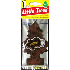 Little Trees Hanging Car & Home Air Freshener Leather 24 Packs