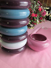 NEW CONTAINERS FOR SILK FLORAL ARRANGEMENTS, LOT OFEIGHT/PLASTIC /FRANKLIN/CHINA