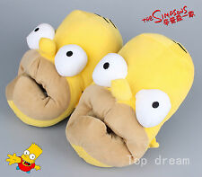 The Simpson 3D Head Shaped Novelty Slippers for Men Winner Home Shoe Cute Gift