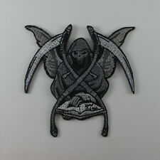 ANGEL OF DEATH EMBROIDERED SEW IRON ON PATCH BIKER MOTOCYCLE T-SHIRT JACKET CAP