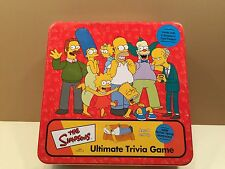 The Simpsons Ultimate Trivia Game - 2000 - Cardinal - Homer, Bart, Marge, Lisa