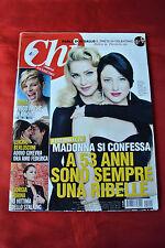 Madonna February 29, 2012 Chi Import Italy Celebrity Weekly Magazine