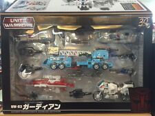 Takara Tomy Transformers Unite Warriors UW-03 Defensor with Groove +coin INSTOCK