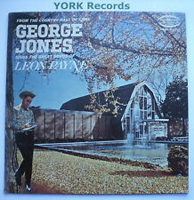GEORGE JONES - Sings The Songs Of Leon Payne - Ex Con LP Record Musicor MS 3204