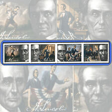 2009  ABRAHAM LINCOLN  Attached  STRIP of 4  MINT 42¢ Stamps  # 4380-83 4383a