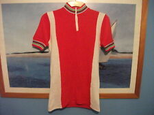 RETRO VINTAGE ACRYLIC CYCLE JERSEY - SIZE SMALL