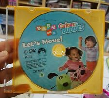 Baby Nick Jr. Curious Buddies (disc only NTSC) DVD MOVIE - FREE POST