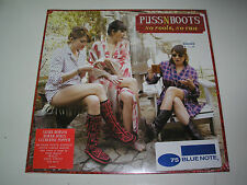 Puss N Boots No Fools, No Fun LP sealed Mint 180 gram Gatefold vinyl Norah Jones