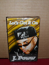 J-Poww - Let's Get  it On / You Don't Have To Worry Cassette Single BRAND NEW