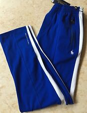polo ralph lauren Track sweat pant athletic Large Blue /white