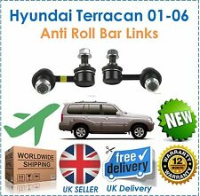Hyundai Terracan 2001 2006 Front Anti Roll Bar Drop Links NEW OE Quality!!