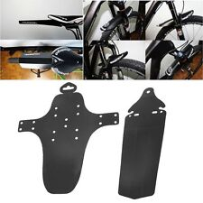 2Pcs Cycling MTB Mountain Bike Bicycle Front + Rear Mud Guards Mudguard Fenders