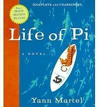 Life of PI by Yann Martel Audio-CD Book (English) 5 CD's