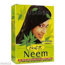 BUY 5 GET 1 FREE 100g HESH NEEM POWDER DANDRUFF ITCHY SCALP HAIR LOSS SKINCARE