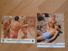 SHARON TATE 1967 French Lobby Cards DON'T MAKE WAVES Claudia Cardinale T.CURTIS