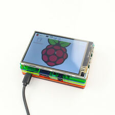 3.5 inch LCD Touch Screen Display Kit W/ Colorful Case for Raspberry Pi 2 3 zp