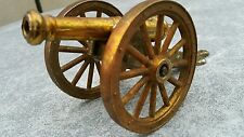 VINTAGE CANNON TOY METAL GUN Artillery FIELD WEPON NM BRITAIN  BRONZE BRASS