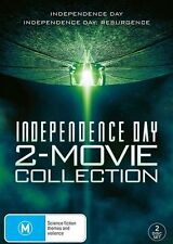 Independence Day / Independence Day - Resurgence (DVD, 2016, 2-Disc Set) R/4