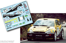 Decal 1:43 Enrico Bertone - FORD FOCUS WRC - Rally Canarias El Corte Ingles 2002
