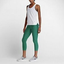 Nike 801043 Womens $110 Green Med Power Epic Lux Tights Training Cropped Pants