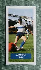 ITALIA-CAGLIARI... Luigi Riva-punteggio UK FOOTBALL TRADE card