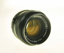 Fujinon Screw Mount 55mm F1.8 Camera Lens