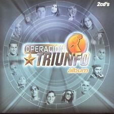 Operacion Triunfo Album CD