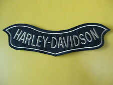 PATCH small embroidered HARLEY DAVIDSON cm 14 x 4,5 PATCH EMBROIDERY embroidery