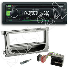 KENWOOD usb cd Autoradio set + Ford Focus ab07 panneau + quadlock Iso Adaptateur