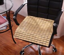 1PCS Summer Cool Natural Bamboo Mat Seat Cover Car Home Office Chair Cushion