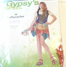 Gypsy's Spell Gypsy Romani Child Costume Dress 12-14 NIP