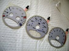 APC 2000-2003 Chrysler PT Cruiser Glow Gauges Silver For Cluster 120 MPH