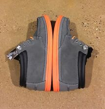 DVS Hunt Grey Suede Snow Size 6.5 Boat Deck BMX Skate Shoes $78 Box Price