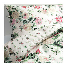 Ikea Twin size EMMIE BLOM Duvet cover and pillowcase Floral multicolor NWOT