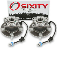 Rear Wheel Bearing Hub Assembly 2005-2006 Chevrolet Equinox Pair Left Right qi
