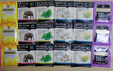 Selection Pack 18 Assorted Enveloped Tea Bags Twinings Lichfields 6 Flavours