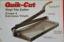 vinyl floor tile cutter guillotine DIY tool